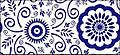 Blueandwhitepatternvector_t1