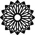 Rosettegeometricshapeclipart_t1